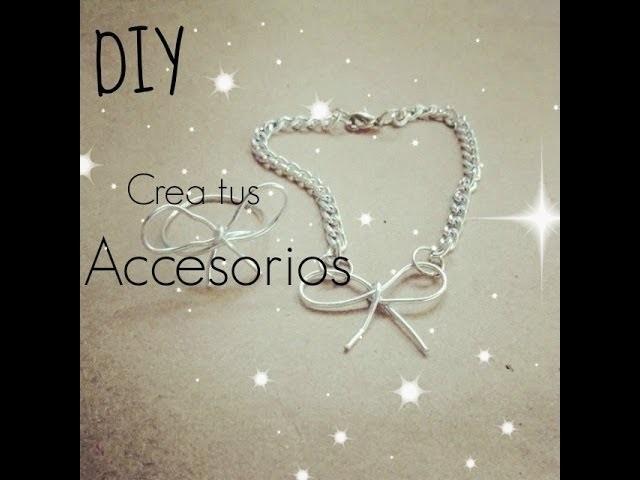 [DIY] Crea tus accesorios.Anillo & Pulcera♥Sheccid