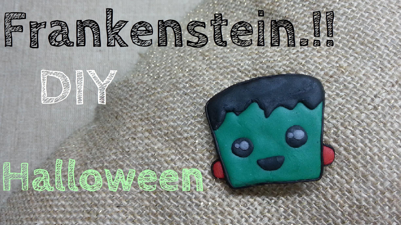 DIY Frankenstein kawaii para Halloween♥ | Marianneʚïɞ