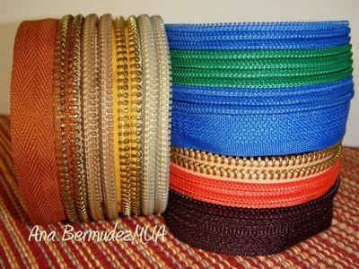 DIY: Pulseras de cierres. Zipper bracelets ♡ AnaBermudezMUA