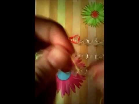 DIY Rainbow Loom Pulsera de Buchinchis ¡en español!