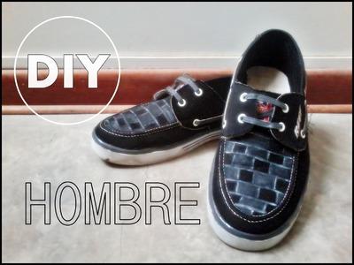 DIY Renueva zapatillas de Hombre. Novedadesconkatherine ♥