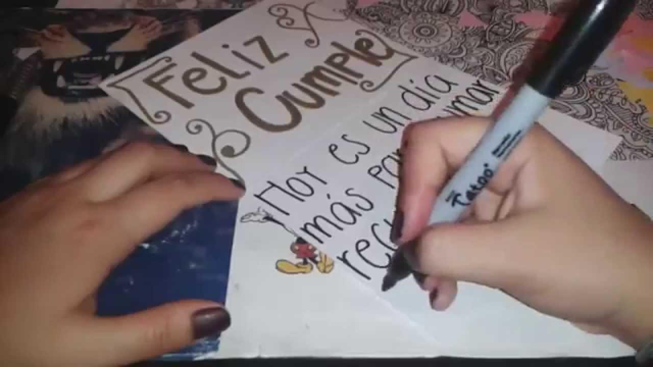 DIY :) || TARJETAS PARA CUMPLEAÑOS || Ideas de regalos :)