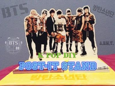 KPOP DIY Cómo hacer un stand para notas(BTS)