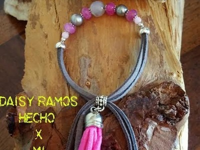 Como hacer Pulseras de Moda, How to make Fashion Bracelets DIY