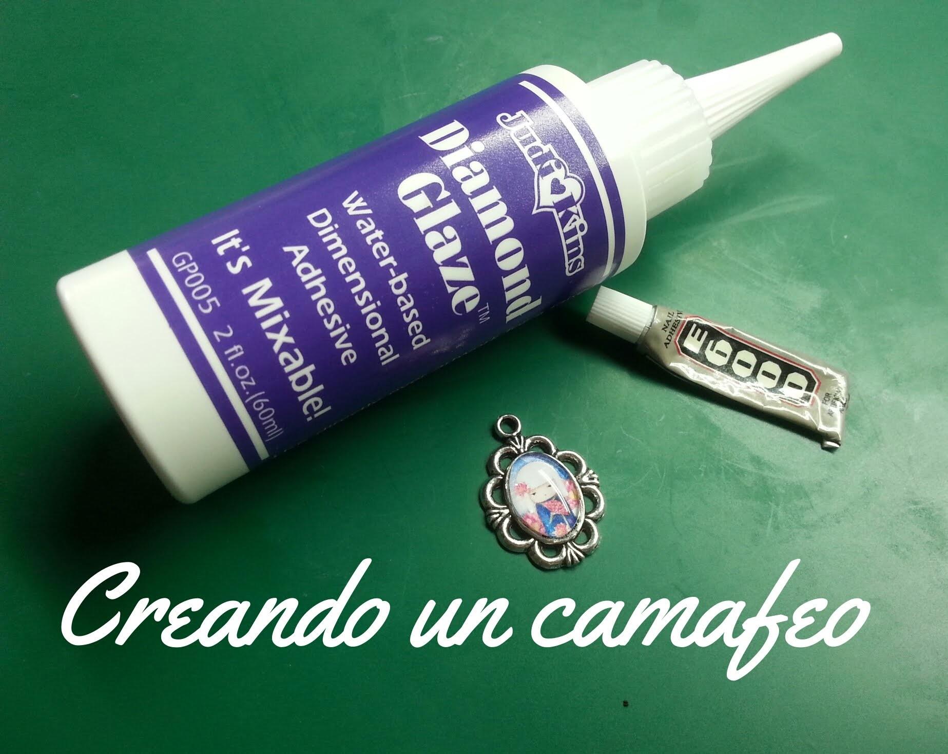Creando un camafeo - DIY How to make a cameo brooch