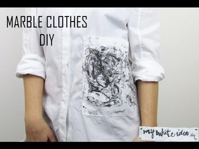 MARBLE CLOTHES  DIY