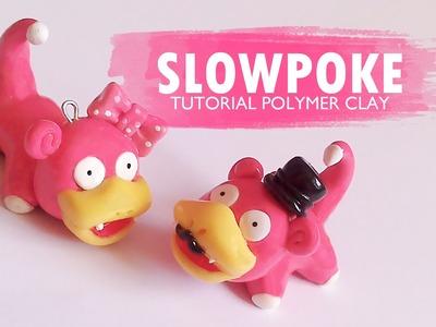 Pokemon Slowpoke Polymer Clay Tutorial. Arcilla polimérica. Porcelana. Plastilina