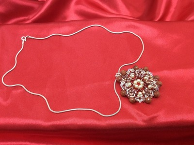 Tutorial Colgante Perlas, Superduo y Tupis SWAROVSKI