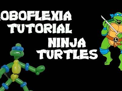 Globoflexia Tutorial Ninja Turtles - Ninja Turtle Balloon