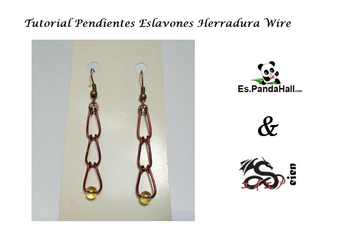Tutorial Pendientes Eslabones Wire Es.PandaHall.com