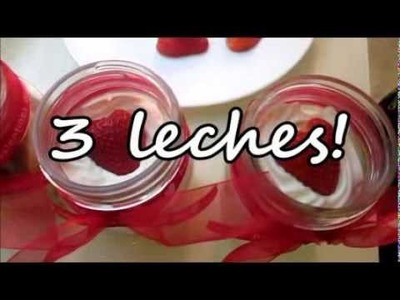 3 leches DIY Postres en San Valentin!