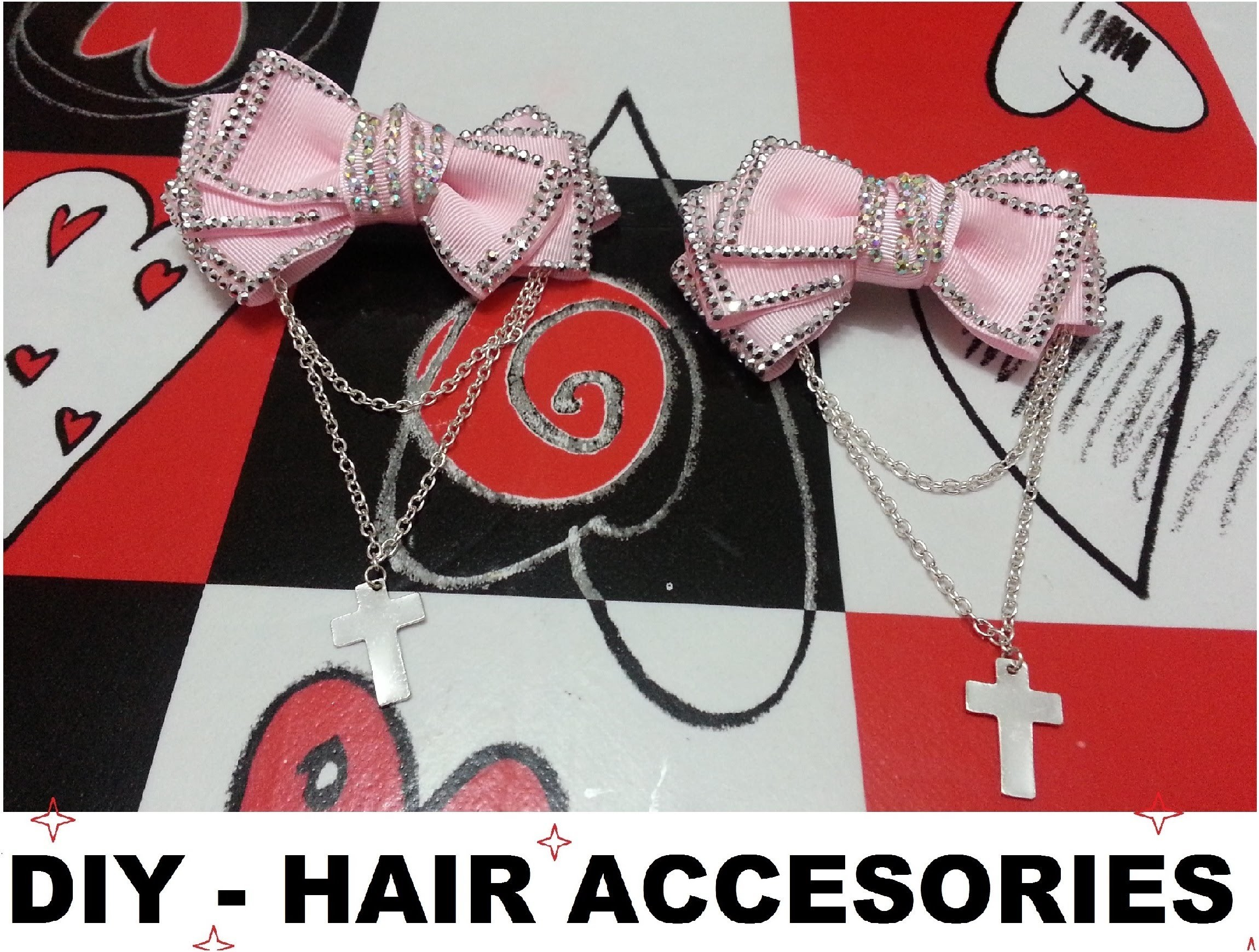 DIY - Accesorios - Lazos para el pelo