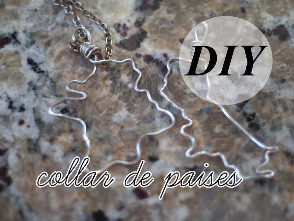 DIY Collar de Países | Laura Neuzeth