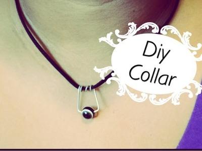 Diy como hacer un collar facil❤️diy necklace❤️crea tus propios accesorios 1