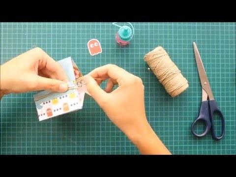Organizador de escritorio de papel | DIY | Tutorial paso a paso