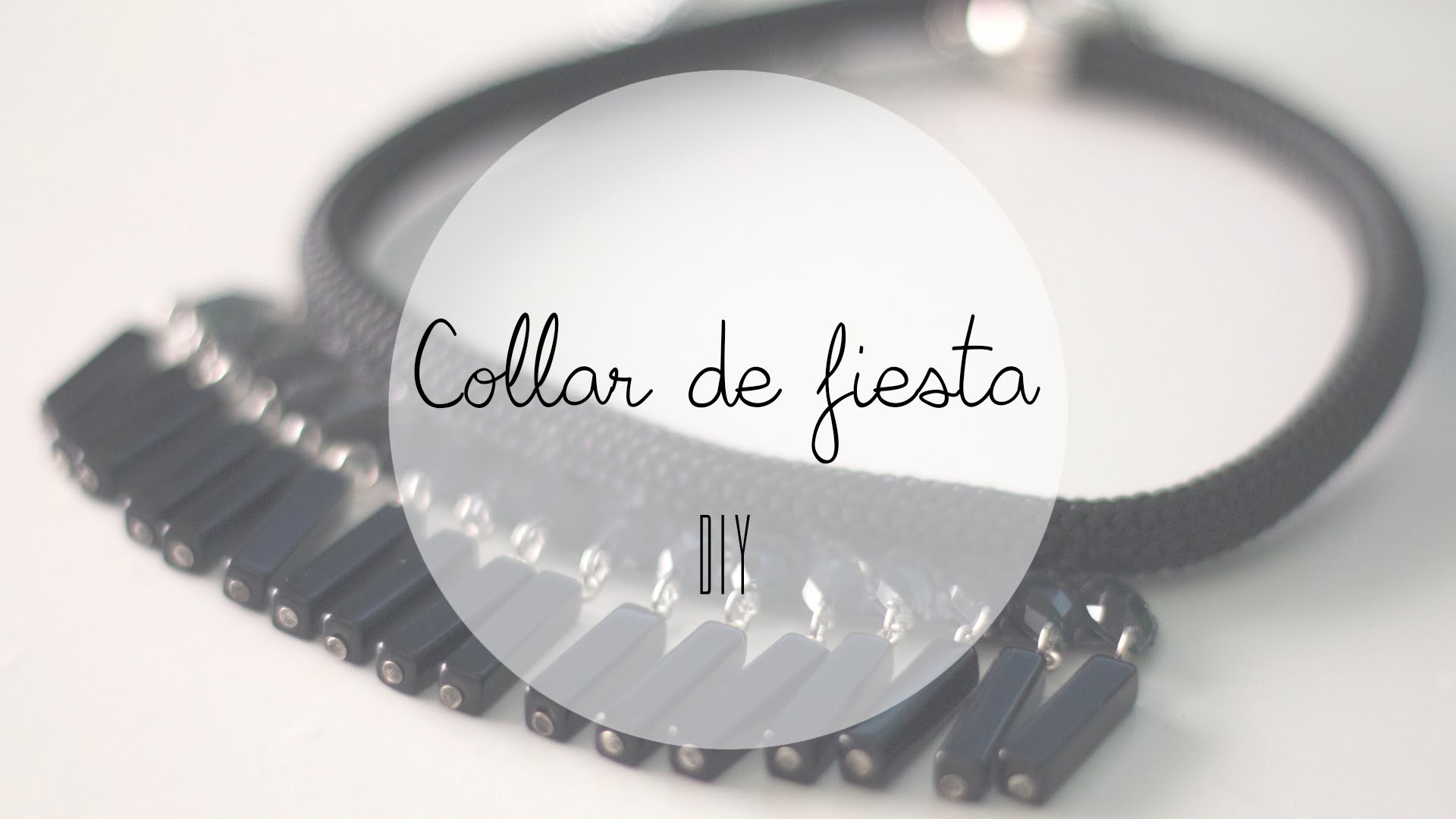 DIY: Collar de fiesta