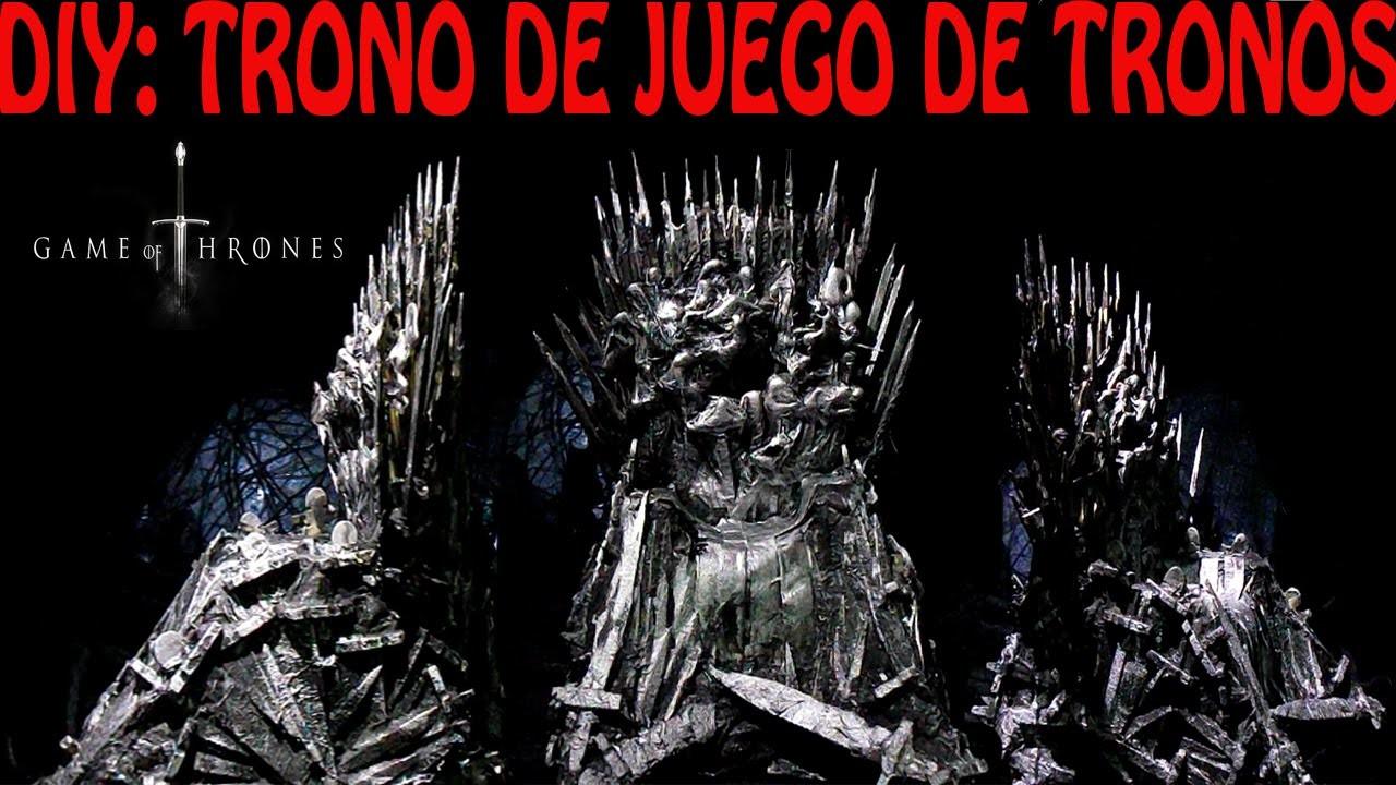 DIY :TRONO DE JUEGO DE TRONOS |THRONE OF GAME OF THRONES