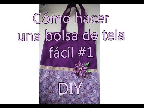DIY Bolsa de tela #1