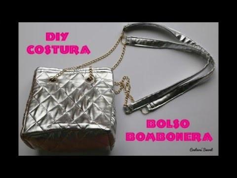 DIY Costura: Como hacer un bolso bombonera inspiración Zara | DIY quilted BUCKET BAG
