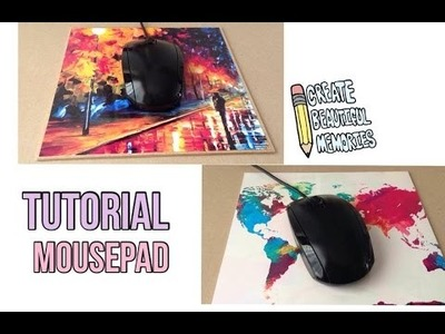 Como hacer tu propio Mouse pad I DIY vuelta a clases