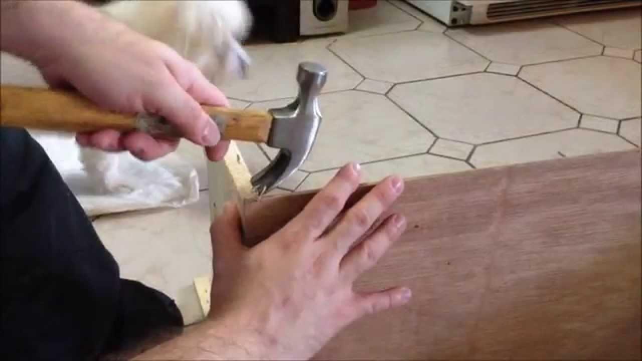 "DIY Cama para perrito Coton de Tulear ""Candy"" de 1 caja de vinos? I Lorentix"