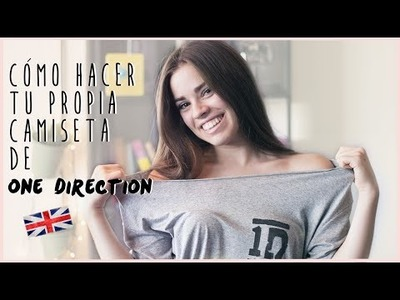 DIY: CAMISETA DE ONE DIRECTION