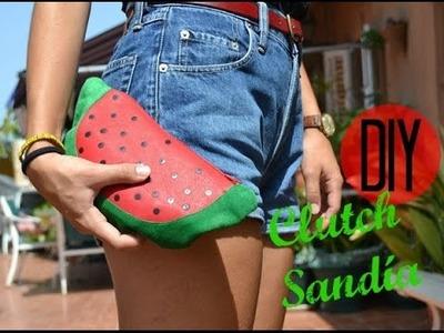DIY Clutch Sandía (en menos de 30 minutos)