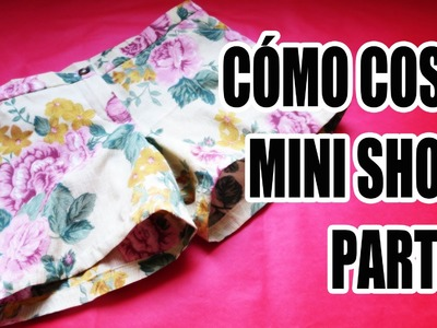 DIY: Cómo coser mini short (Parte 2)