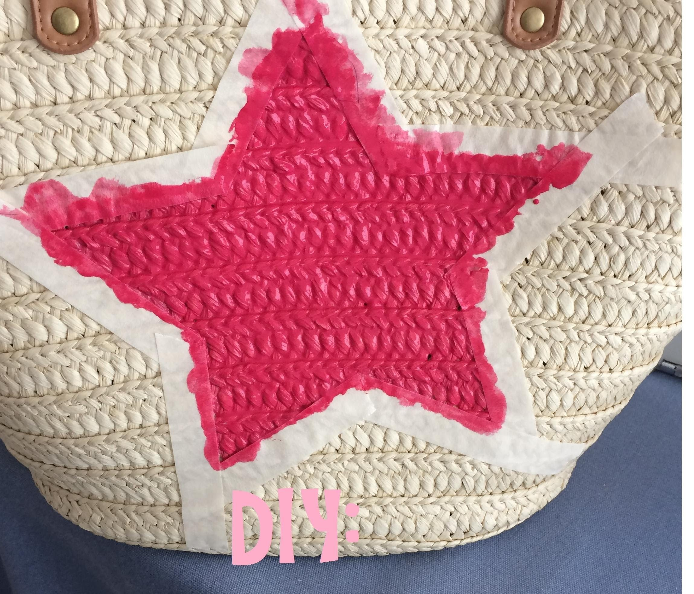 DIY Customiza tu capazo. Wicker Bag