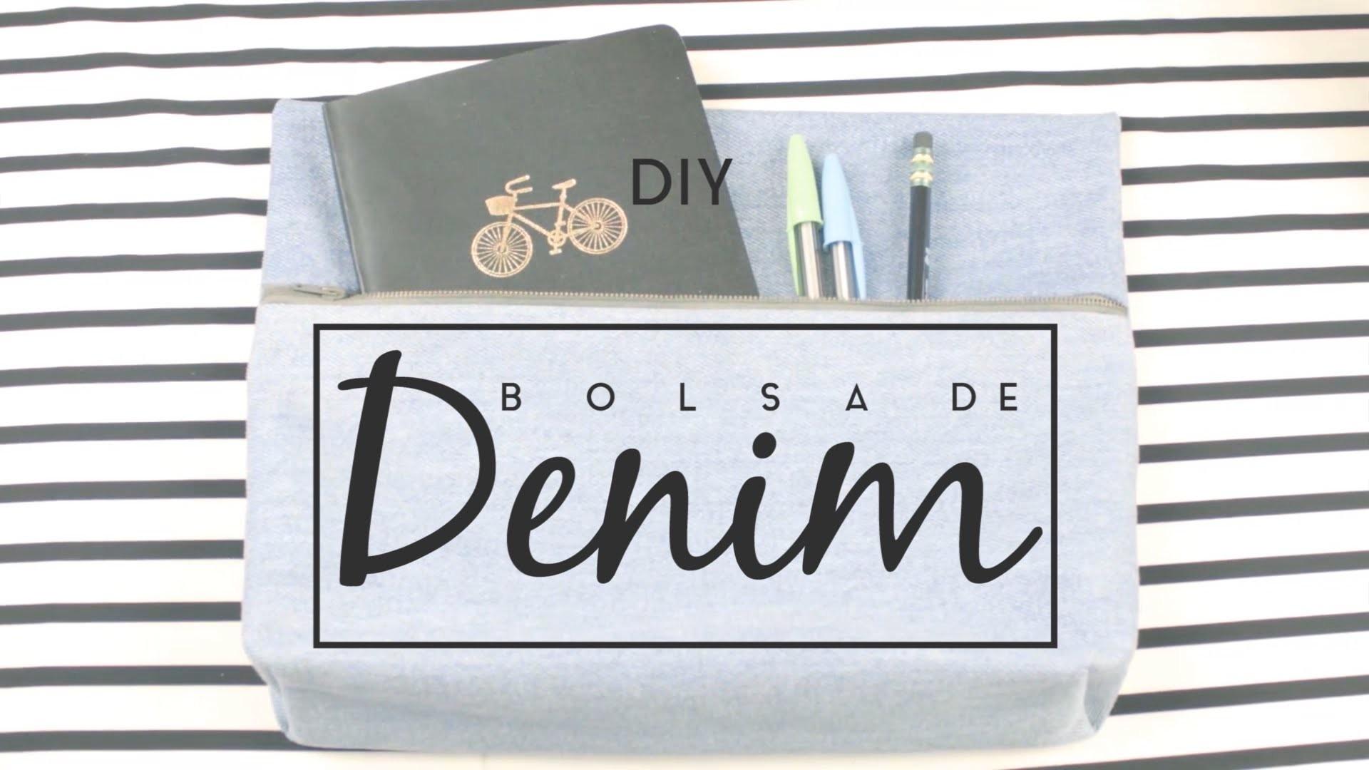 DIY. HAZLO TU MISMO -  BOLSA DE DENIM