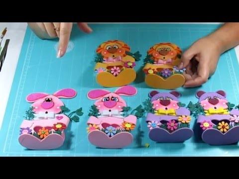 DIY Ideas para regalar a Niños Dulceros en Fomi, Goma Eva, Microporoso, Easy Crafts