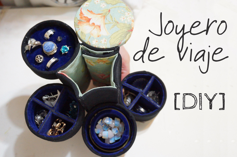 [DIY] Joyero con tubo de cartón