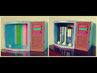 DIY - Librero retro de cartón.