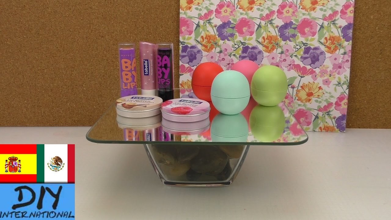 DIY mesa para cosméticos | Súper fácil - Tutorial paso a paso (español)