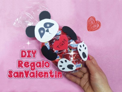 DIY Regalo San Valentin - Colaboración ♥ de amistad