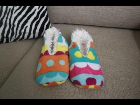 DIY Sleepers EASY!!  como hacer pantuflas FACIL