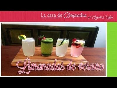 Limonadas de Verano - DIY.Alejandra Coghlan