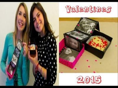CHOCOLATES DE VALENTINES + DIY DE CAJITA DECORADA - VALENTINES 2