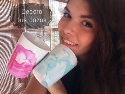 DIY: Decora tus tazas!