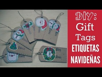 DIY: Etiquetas Navideñas. Gift Tags