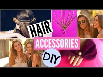 DIY HAIR ACCESSORIES ft. A touch of pink ⎥Lady Scarlett