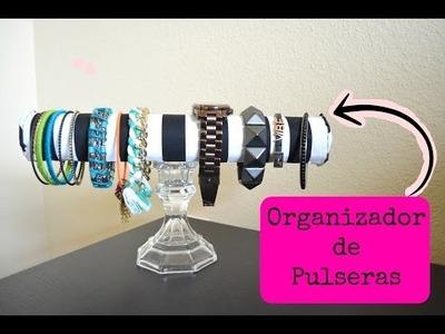 DIY| Organizador de PULSERAS | Colgando Joyas