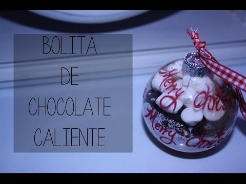 IDEAS PARA REGALAR EN NAVIDAD | DIY: Bolita de Chocolate Caliente