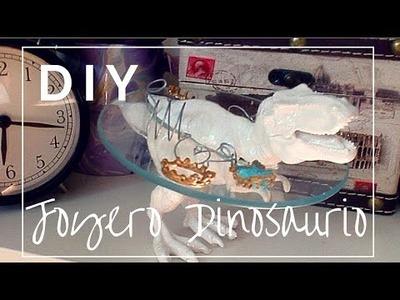 Joyero de dinosaurio de juguete (Jeweler toy dinosaur DIY)
