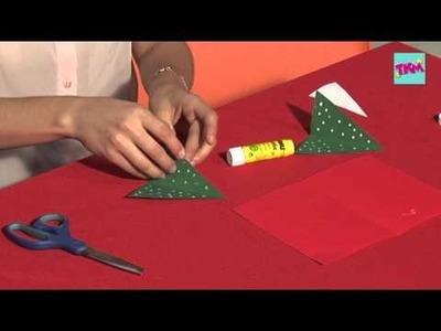 DIY: Cómo hacer una tarjeta navideña en 3D. TKMMEXICO