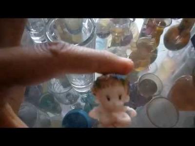 DIY el angel que nadaba en un vaso tequilero