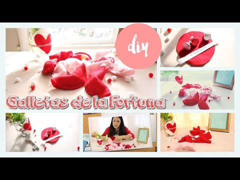 DIY Galletas de la Fortuna.DIY  Fortune Cookie