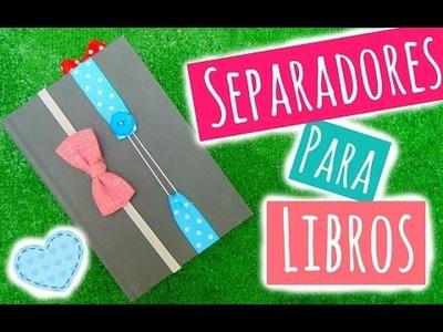 DIY - SEPARADORES PARA LIBROS