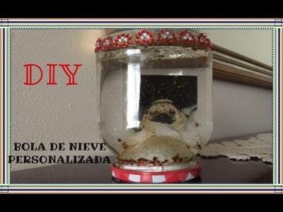 REGALO DIY DE NAVIDAD. BOLA DE NIEVE PERSONALIZADA - LowCost MakeUp ♡