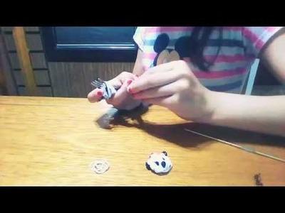 Tutorial de como hacer una cabeza de panda con gomitas